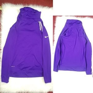 Nike PRO Dri-Fit Long Sleeve Turtle Neck Top